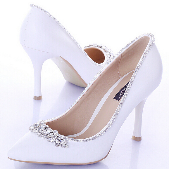 Shop for white bridal shoes with rhinestones at Shop more. We have amazing deals on white bridal shoes with rhinestones from all around the web.