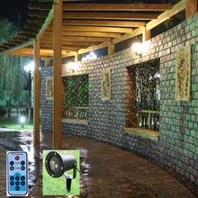 Wasserdichte Outdoor/Indoor Christmas Lights RG laser Projektor Rot Grün Moving lights mit Fernbedienung(China (Mainland))