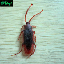 Tricky cockroach simulation toys novel funny kuso toys whole person fake cockroach cockroach PB0195(China (Mainland))
