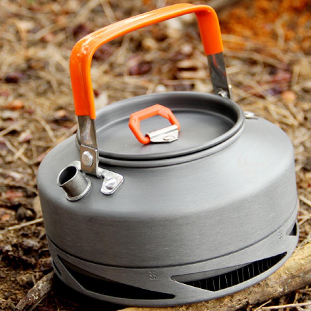 Portable Camping Kettles Fire Maple FMC-XT1 0.8L Outdoor Kettles Picnic Tea Pot Kettle with Tea Filter + Mesh Bag(China (Mainland))