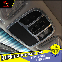 Car styling ABS Chrome front reading lamp Cover Trim KIA Sorento L 2015-2016 Decorative Reading light covers trim Decoration - Che dong xiang Co.,LTD Store store