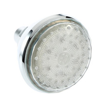 1pcs 7 Color 360 degree Adjustable Romantic Automatic  LED Shower Head for Bathroom  New Free Shipping(China (Mainland))