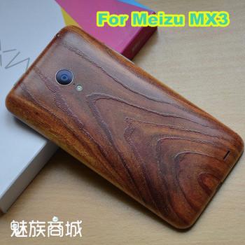 Etui plecki do Meizu MX 3 poliwęglan jak drewno