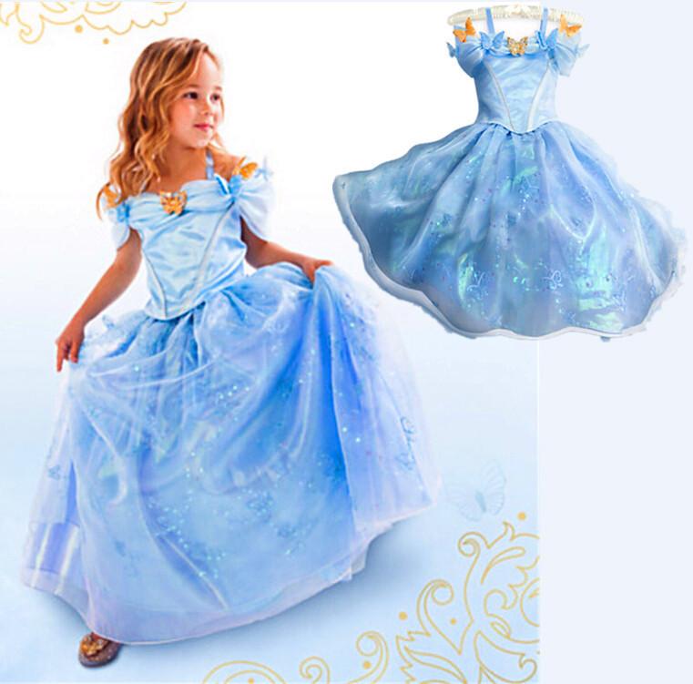 Сшить девочке платье как у золушки