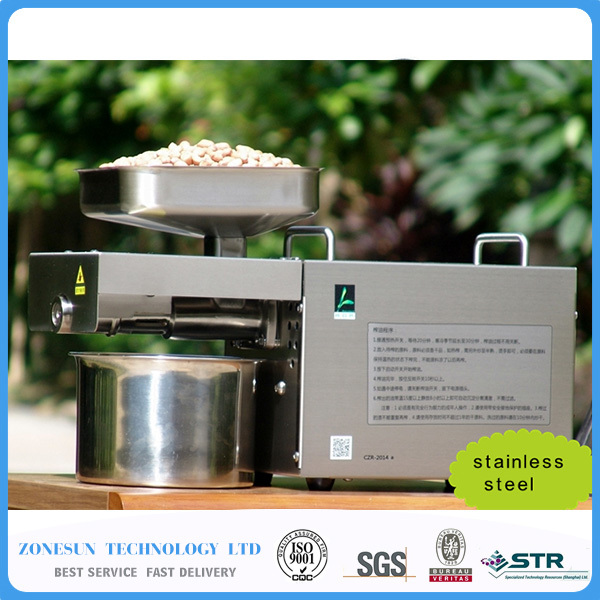 Home oil press machine Cold press oil expeller(China (Mainland))