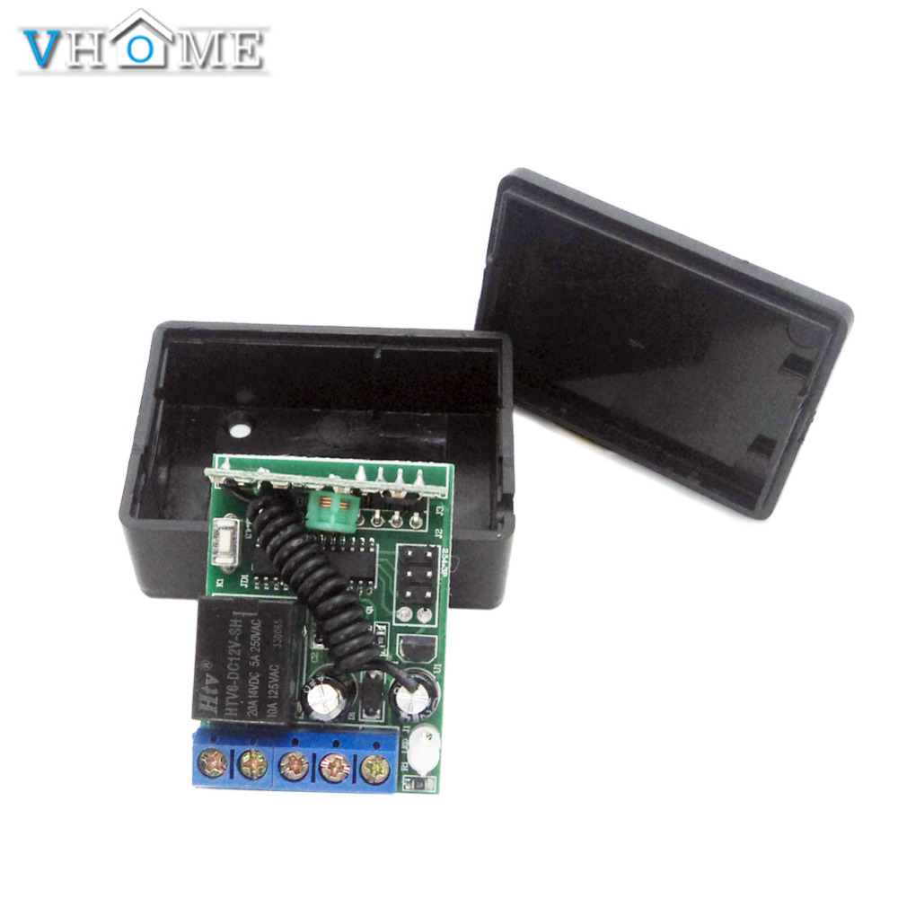 433 Mhz Wireless Remote Control Switchrelay Receiver Module For 1527 learning code Transmitter for garage door,electric curtains(China (Mainland))