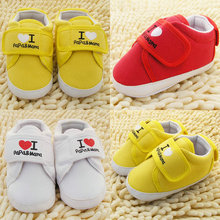 Heart Cute Infant Toddler Baby Boy Girl Soft Sole Crib Shoes Sneaker Newborn Hot Wholesale Free