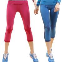 Women's Fitness Yoga Ladies Running Pants Gym Workout Clothes Sportswear Leggings M-L