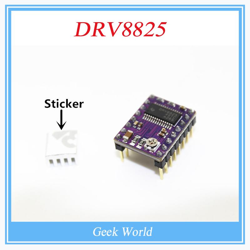 Гаджет  3D Printer Stepstick Drv8825 Stepper Motor Driver Reprap 4 PCB Board RUMBA replace A4988 BT0006-3D None Электронные компоненты и материалы