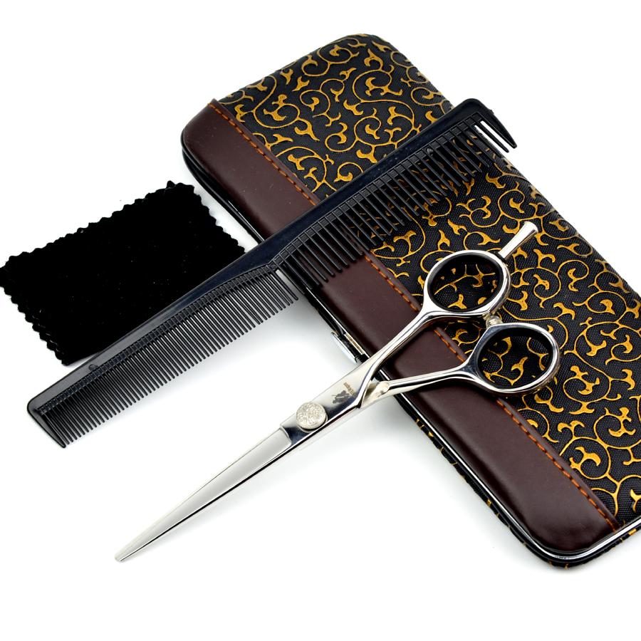 HUNTERrapoo: Professional Japanese Hair Cutting Scissors 6 inch Hair Dressing Salon Shears Barber Shop Supplies(China (Mainland))