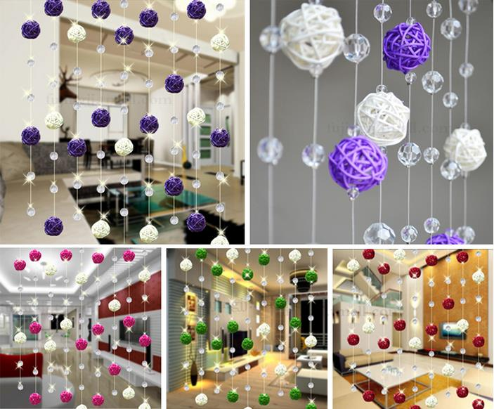 3cm white Rattan Balls For Home Decoration In Christmas Decorations Supplies Decorative Rattan Balls For Wedding 100pcs/Lot(China (Mainland))