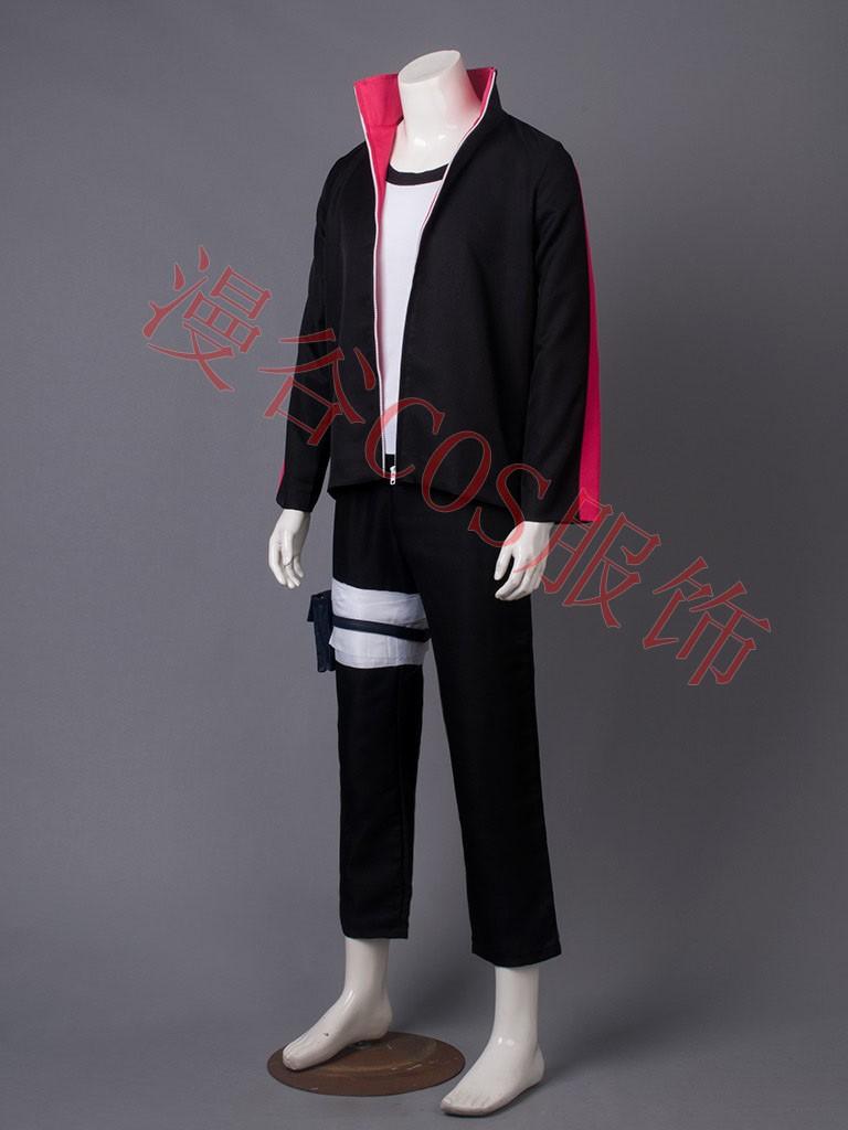 NARUTO Boruto Uzumaki Cosplay Costume Halloween Uniform Coat+T-shirt+Pants+Bags+Shoes+Headband+Weapons  HTB1jPTjJVXXXXXtXpXXq6xXFXXXl