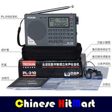 FREE SHIPPING ! TECSUN PL-310 FM/ AM/ SW/ LW DSP WORLD BAND RADIO PL310#E09155