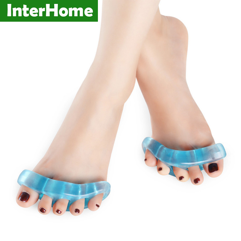 Five toes Corrective brace deformity Posture Corrector feet care separator Treatment of hallux valgus Overlap Wear comfortable