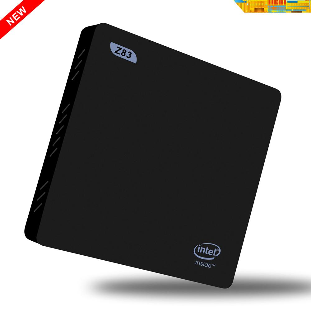 Beelink Z83 TV Box Intel Atom X5-Z8300 Quad-core 4K 1000M Ethernet 64 Bit Windows 10 2.4G + 5.8G WiFi BT4.0 Set-top Original Box(China (Mainland))