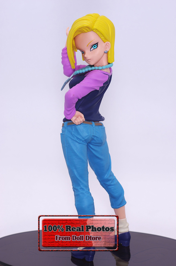 1/12 Japanese anime figure Banpresto Android 18 lazuli Dragon Ball Z SCultures Zoukei Tenkaichi Budoukai 6 figure toy doll(China (Mainland))