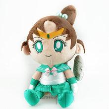 29Cm Anime Sailor Moon Sailor Jupiter Lunar Artemis Plush Doll Toys Car Toy Soft Cotton Stuffed Plush Toys Gift Hang Decorations