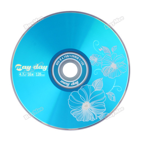 trad new fashion brand! 1Pcs New Blank Recordable Printable DVD-R DVDR Blank Disc Disk 8X Media 4.7GB hottest(China (Mainland))