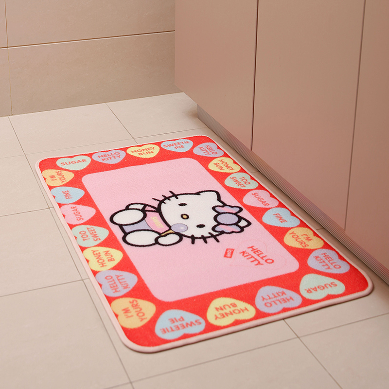 50 80 cm bonjour kitty tapis tapis tapis salon de for Tapis de cuisine aliexpress