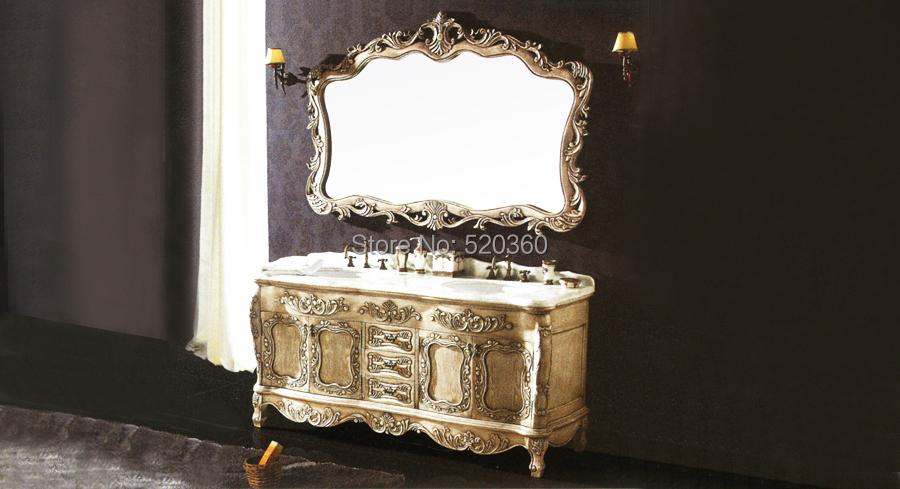 Achetez en gros blanc antique salle de bains vanit en for Miroir des vanites
