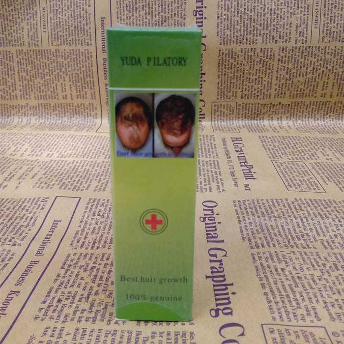 1 garrafas / set cabelo crescimento líquido de tratamento rápido crescimento do cabelo Yuda Pilatory tratamento de perda de cabelo para homens / mulheres