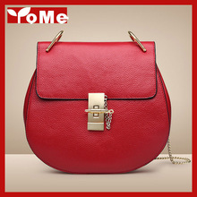 2015 New fashion women leather handbags small chili with paragraph pig drew bag women Female Shoulder Messenger bags, 5P0365(China (Mainland))