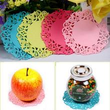 DHL 5000pcs Cute Flower Shaped Colored Silicone Flower Mug Coasters Mats Pad Cushion Drinks Tea Cup Holder Drink Tools Randomly(China (Mainland))