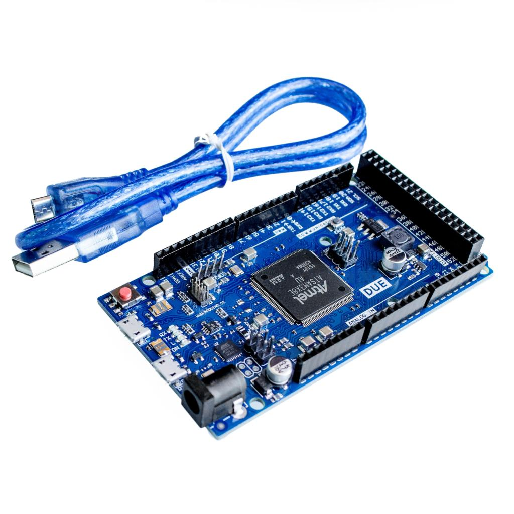 DUE 2012 R3 Board AT91SAM3X8E ARM 32 Bit for Arduino with Data Cable Set(China (Mainland))