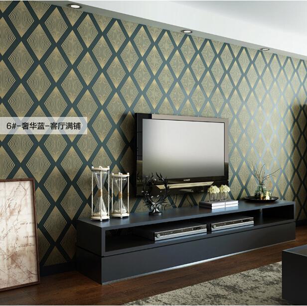 Online Kaufen Gro Handel Modernen Stil Tapete Aus China Papier Peint Pour  Salon Moderne