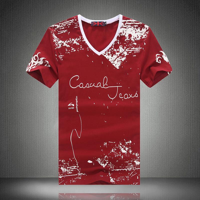 2016 Summer Tshirt Men Hip Hop Gym Clothing Casual Cool Design Printed Tee Shirt Sport Sweatshirt M-5XL Plus Size T-Shirt Homme(China (Mainland))