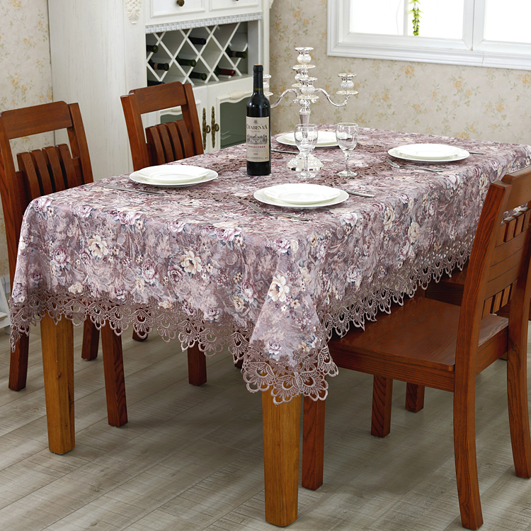Lan Duoou Style Table Cloth Pastoral Coffee Table Cloth Tablecloths Round Tablecloths Pastoral