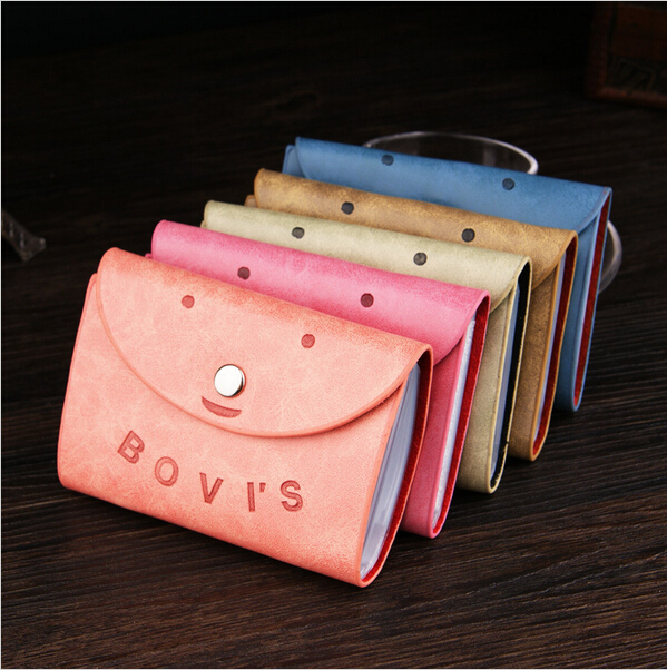 New Fashion Genuine Leather Card Package Business Credit Card Holder Cartoon Passports Cover Bag Passport Card Organizer Bags<br><br>Aliexpress