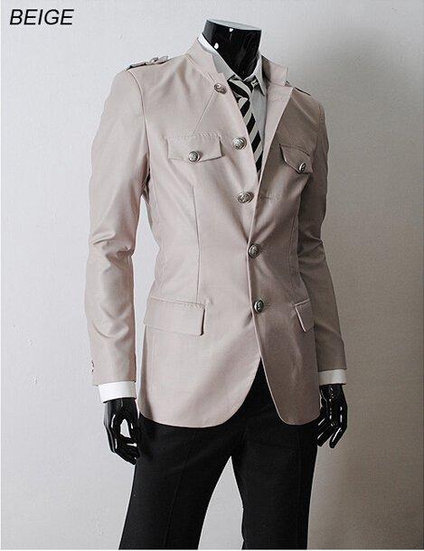 2015 luxury designer mens jacket fashion tunic style men outdoor