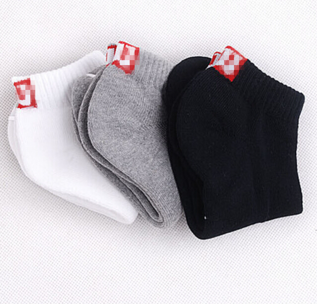 Men socks spring Summer Autumn Men athletic Sock Cotton breathable socks Free Shipping! (12 pieces =6 pairs) men's boat socks(China (Mainland))