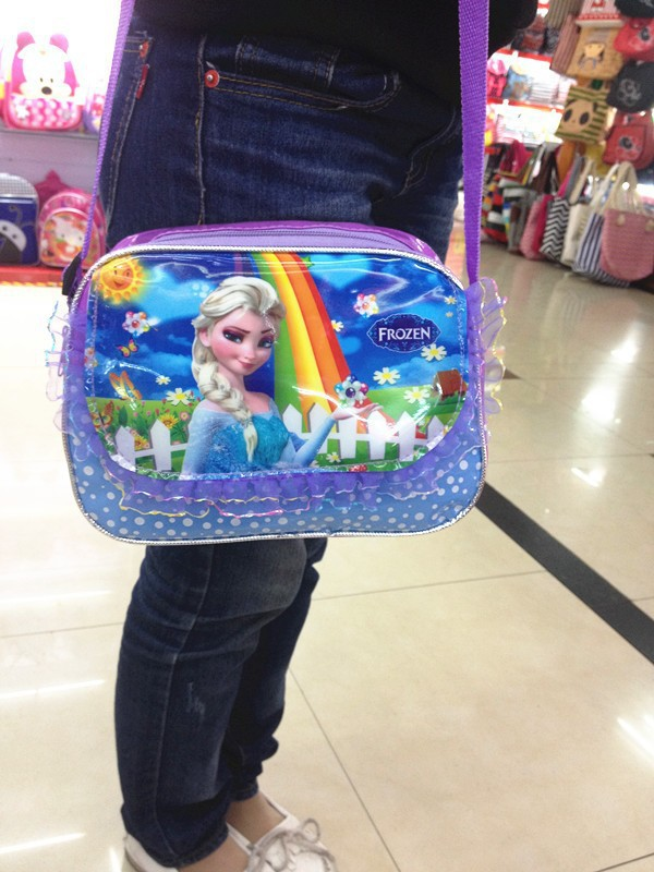2014 popular Frozen children backpacks, designer girls school bags, hot fashion kids boys bag single-shoulder - Wangwang Zhu store