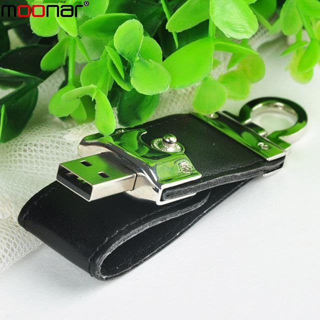 2015 4GB Leather USB Flash Drive Pen Drive Pendrive Flash Drive Memory Card USB Stick Thumb Drive flash disk gifts X90*DA1317A1(China (Mainland))