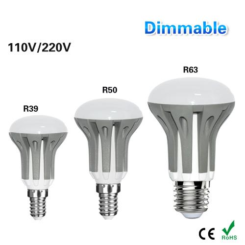 Full Watt 3W 5W 7W E27 E14 LED Corn Light R39 R50 R63 110V 220V Dimmable LED Lamp Spotlight Candle Indoor Lampada LED Lighting(China (Mainland))