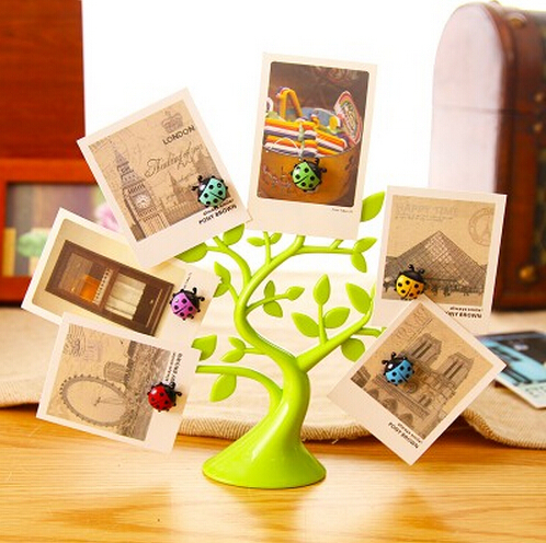 Magnetic message posted lucky tree decorations Home Decoration Creative cute and practical small gifts to send his girlfriend(China (Mainland))