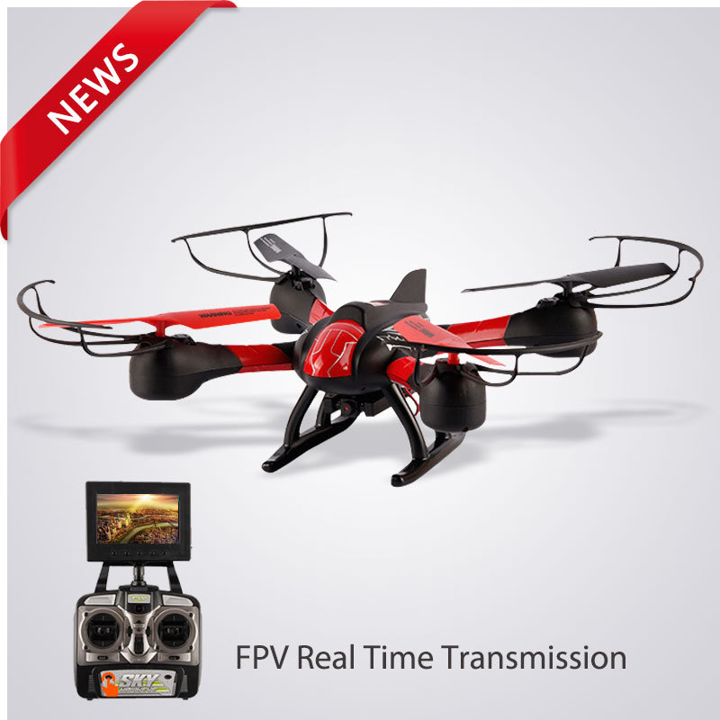 Deluxe smart drone with camera flying drones electric rc helicopter anti-break FPV quadcopter drone camera HD video drone UAV(China (Mainland))