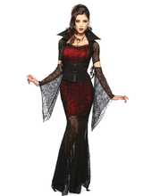 Buy 3 Pcs Gothic Sexy Costume Halloween Dress Costume Sexy Vampire Costume Women Masquerade Party Halloween Cosplay Costume for $21.70 in AliExpress store