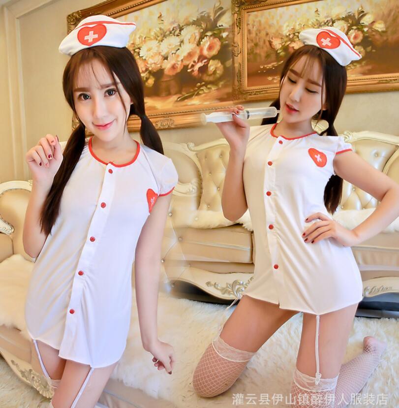 Фотографии девушек в форме медсестры в черном платье с белым 22 фотография