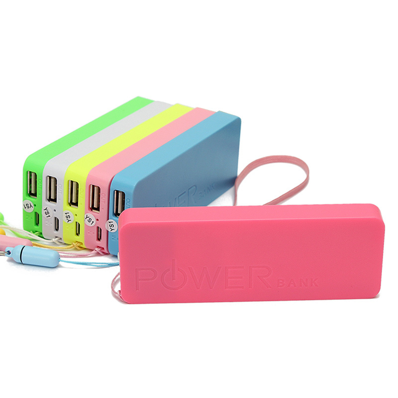 Fashion Newest Multicolor Ultra USB Portable External Power Bank Thin 5600mAh Battery Charger fit universal phone For iPhone(China (Mainland))