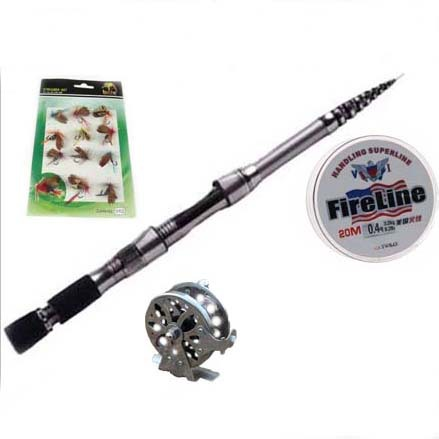 Ultralight carbon fly fishing rod 10 section 2 1 meters for Ultralight fly fishing