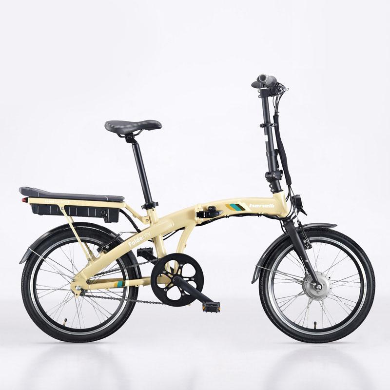 "BENELLI 20"" Fashion Folding E-bike, Lightweight Electric Bicycle, Lithium Battery, 250W Bushless Motor, 4 Gear Power(China (Mainland))"