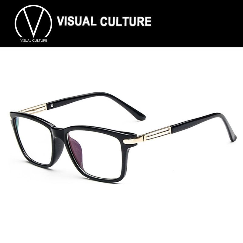 2015 New Fashion Men Square Eye glasses Frames Unisex ...