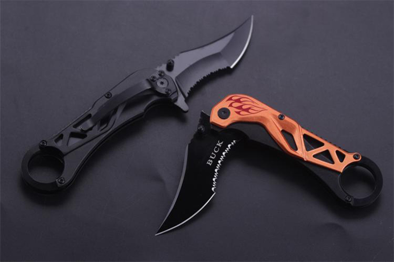 Outdoor Karambit Knife Utility Folding Blade Camping Knife Cs Go Hunting Combat Knives Cold Steel Tactical Survival Knife(China (Mainland))