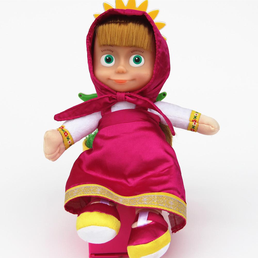 masha toys plush Dolls Stuffed & Plush bear masha toys & Hobbies Animals Baby Children Best Gift -Style In-stock Items(China (Mainland))