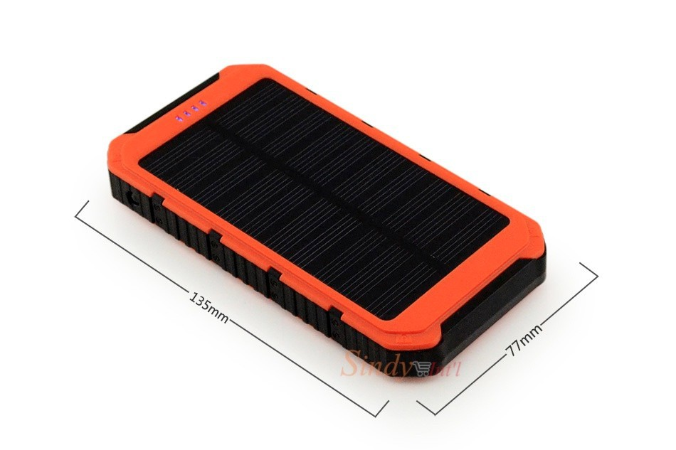 3sindy solar charger usb power bank