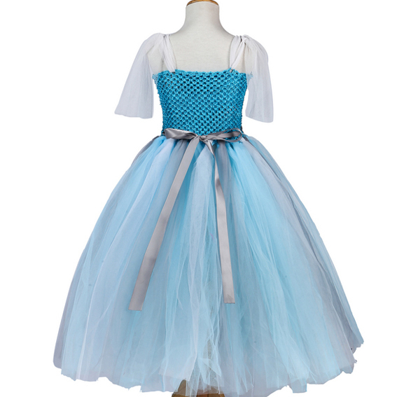 tutu wedding fluffy costume toddler tulle kids baby girl dress 2015 new ball gown birthday ballet dance fancy party SEF4006(China (Mainland))