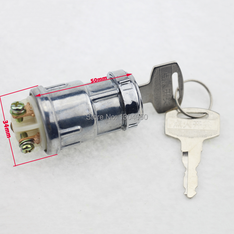 IGNITION SWITCH KEY 3 PIN start on off GO KART 110CC 125cc 150CC 250CC KinRoad Kangdi
